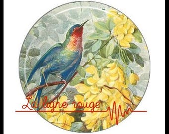 Shabby bird (3268) - Cabochon with or without stand depending on your choice - Etsy