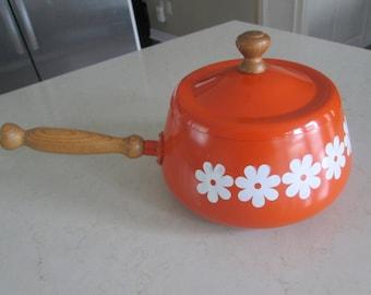 Vintage Fondue Pot