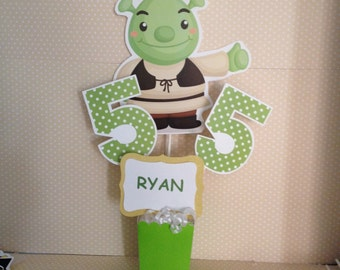 Shrek Party Centerpiece Decoration