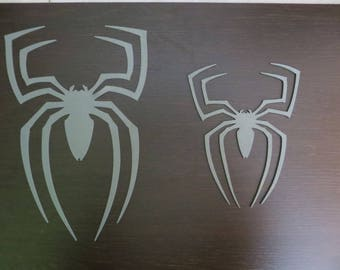 Logos Spiders Spider front and Rear Spiderman 3 Raimi Black Edition