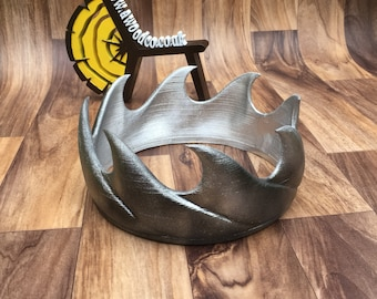Aerys II Targaryen (The mad king) replica costume King crown - Game of Thrones crown  1:1 scale Cosplay - 3D Printed - FREE DELIVERY