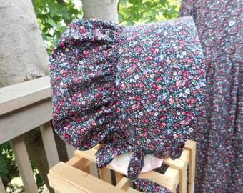 Bonnet Bud Garden Calico