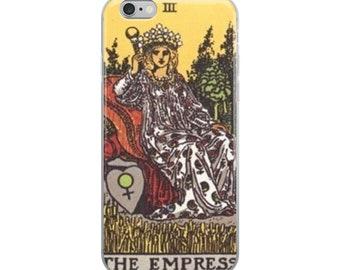 Tarot iPhone Case The Empress Tarot card Phone case