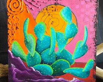Cactus Color Block #2