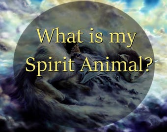 Psychic Reading || What is my Spirit Animal? || Animal Guide || Animal Totem ||  Fylgja || same day available reading