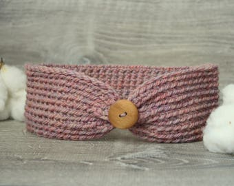 Dusty Pink Ellinore Earwarmer