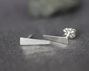 ear climbers, ear pin, ear crawler, sterling silver, 14k gold filled, simple dagger, small post earring, stud earrings, E21