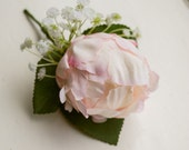 Blush pink silk wedding b...