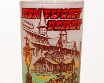 "1978 Kentucky Derby Mint Julep Glass - ""Affirmed"" Triple Crown Winner - Original Owner - Horse Racing"