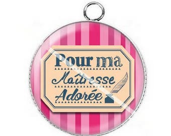 For mistress a15 cabochon pendant
