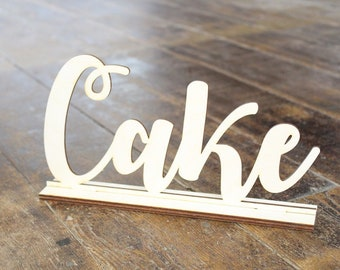 Cake Sign Wedding Cake Sign Wedding Sign