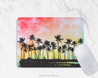Palm Trees Mousepad Palm mouse pad Round or Rectangle Mouse pad Palm Design Floral Mouse pad Cute gift Mousepad 14