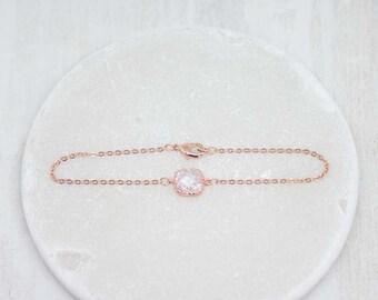 Bracelet Rosegold Crystal