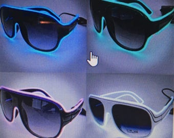 LED Aviation Sunglasses