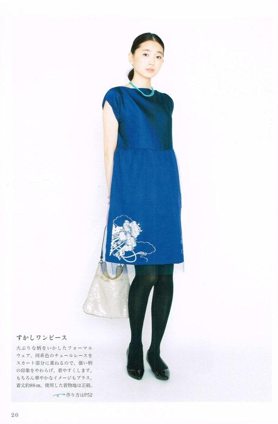 Kimono Upcycling Schnittmuster japanische Nähen Muster-Buch