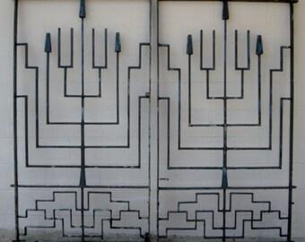 Art Deco Iron Gates