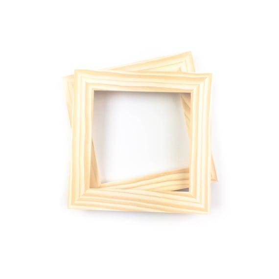 6x6 Bulk Unfinished Wood Frames 6x6 Picture Frames