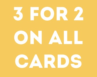 Greeting Cards Pack, Greeting Cards Set, Mix and Match Greeting Cards, Any 3 Cards for 5, Multipack of Cards