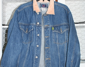 Vtg ESPRIT Denim Jacket Med.