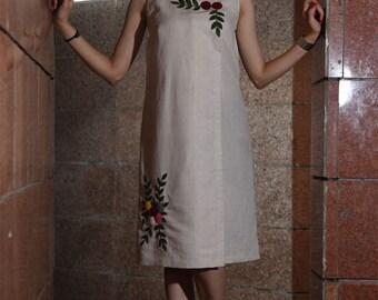 Linen casual Dress