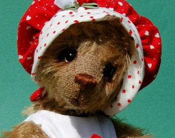 "OOAK Artist Bear ""Rosalee"""