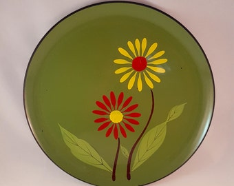 Hand Painted Laquer Ware Tray by DaVar NY - 1965
