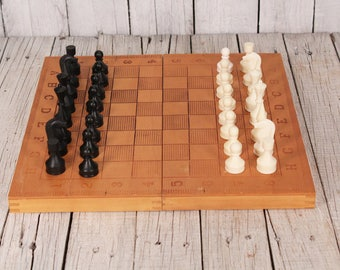 Chess Set And Backgammon, Travel Chess Game, Medium Chess Game, Travel Chess ,