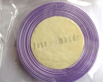 roll of 25 meters of Ribbon colors purple LILAC width 6 mm - REF. 21993