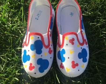 Toddler mickey shoes