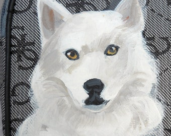 Husky Dog Coin Purse ~ Gifts For Her ~ Mothers Day Gift  ~ Dog Coin Purse ~ Husky Fan ~ Dog Portrait