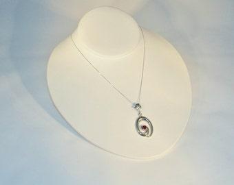 Radiant Rhodolite Garnet Necklace