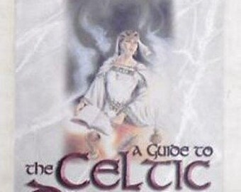 BOOK A Guide to the Celtic Dragon Tarot - D.J.Conway (Card Reading) - No Deck