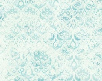 In The Beginning - Bohemian Manor 2  Fabric - By Jason Yenter - Teal - 9JYF 4 - Sold by the Yard