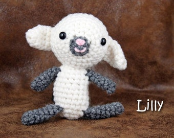 Lilly - Small Stuffed Lamb Toy / Baby sheep