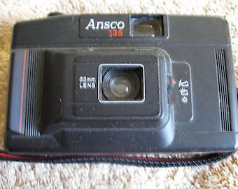 Ansco 135 Point & Shoot 35mm Film Camera C12-10
