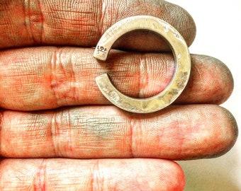Mens Statement Ring, Statement Ring, Heavy Sterling Silver Ring, Biker Ring, Rocker Ring ,biker ,.925 , Johnny Depp Jewelry  LUGDUN ARTISANS