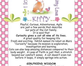Girlfriend Wisdom Column - Kitty Love