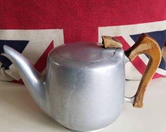Vintage British Aluminum Coffee Pot!