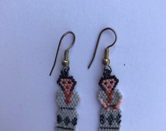 Native American Beaded Doll Earrings