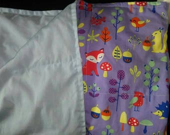 Custom weighted blanket, Childs small, cherry pits
