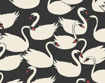 Swanlings Bevy Nightfall - Hello Ollie - Art Gallery Fabrics - Organic Cotton - Poplin by the Yard
