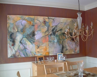 Very Large Original Abstract Painting - Wall-sized Fine Art