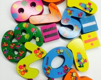 Children Maths Educational Wooden Counting Puzzle