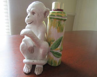 Vintage Monkey Lighter Holder