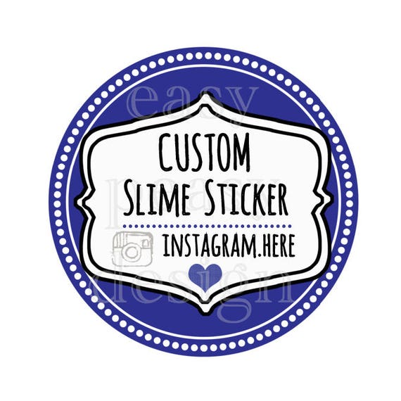 Slime stickers custom stickers for selling slime like this item ccuart Gallery