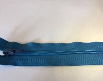 Zip detachable blue 29 cm
