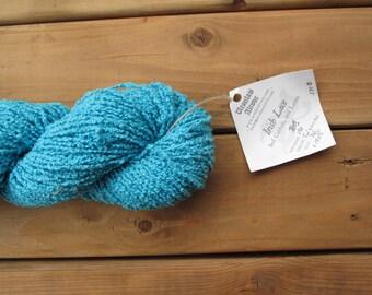 Turquoise Hand Dyed Irish Lace