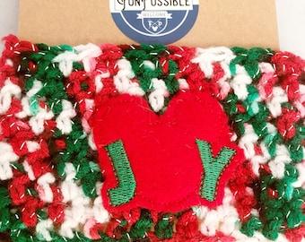 Disney Joy Crochet Coffee Cup Cozy