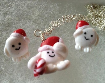 Doctor Who Adipose Earrings Holiday Edition
