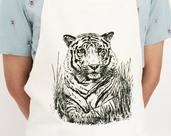 Jungle Tiger Apron